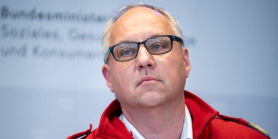 Rot-Kreuz-Chef Gerry Foitik