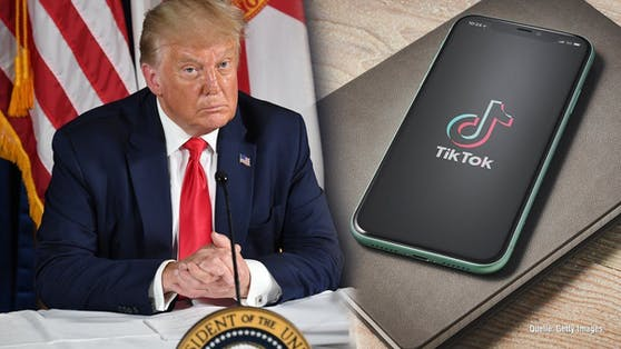 Die Social-Media-Plattform TikTok verklagt die Trump-Regierung.