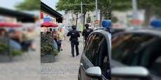 Mann nahm Geisel in Wien, Polizei muss ihn gehen lassen
