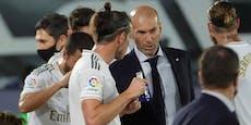 Zidane enthüllt: Bale will nicht gegen City spielen