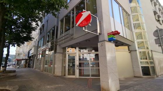 Bank-Filiale in der Taborstraße