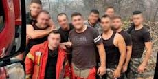 Feuerwehrfreunde starben in der Hölle von Beirut