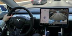 Tesla-Fahrer verlor Schein – weil er Wischer einstellte