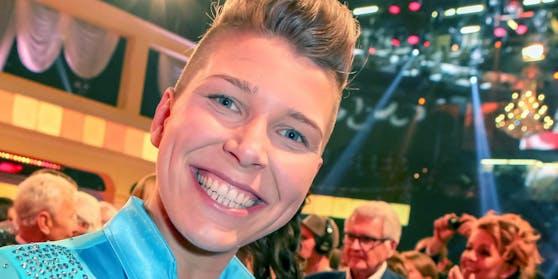 """Mit dem Ausdruck """"lesbische Sängerin"""" kann Virginia Ernst nichts anfangen."""
