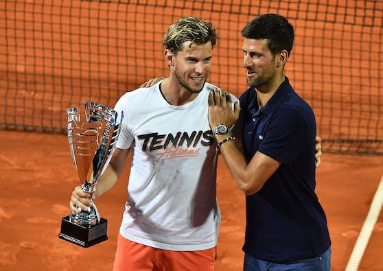 Noak Djokovic versammelt die Top-20 der Weltrangliste hinter sich.