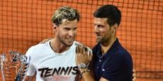 Djokovic und Thiem mit Aufstand gegen die US Open