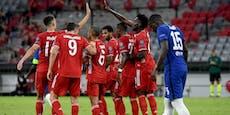 4:1! Bayern spazieren locker ins Viertelfinale
