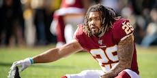 Zwei Stunden nach Verhaftung: Klub wirft NFL-Star raus