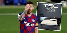 Angst vor Virus! Messi schläft in Anti-Corona-Bett