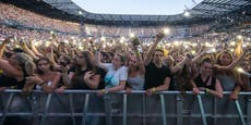 Wilde Debatte um Konzert mit 13.000 Besuchern entbrannt