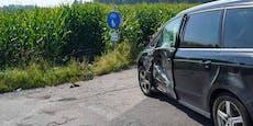 Frau muss tödlichen Crash ihres Mannes mitansehen