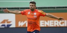 """""""Papa Bär"""" bleibt! Knipser Tadic verlängert in Hartberg"""