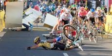 Team suspendiert Rad-Rüpel, schickt ihn zum Psychologen