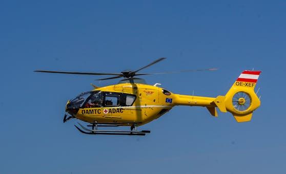 Der 29-Jährige erlitt bei dem Vorfall lebensgefährliche Verletzungen und wurde von einem Rettungshubschrauber ins Uniklinikum Graz gebracht.(Symbolbild)