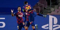 Messi zaubert Barcelona gegen Napoli weiter
