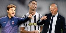 Zidane? Pochettino? Wer wird neuer Ronaldo-Trainer?