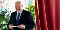 Lukaschenko legt überraschend Amtseid ab