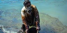 Bilder zeigen Ausmaß der Öl-Katastrophe vor Mauritius