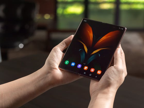 Das Samsung Galaxy Z Fold2 5G.