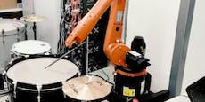 AEC-Festival 2020: Hier spielen Roboter Schlagzeug