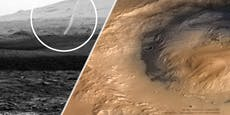 """Gespenstisches Phänomen: """"Staubteufel"""" auf dem Mars"""