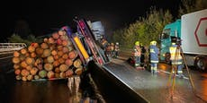 Pyhrnautobahn gesperrt! Schwerer Lkw-Unfall auf A9