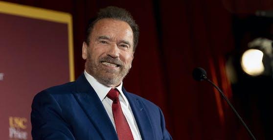 Arnold Schwarzenegger setzt sich für das Klima ein.