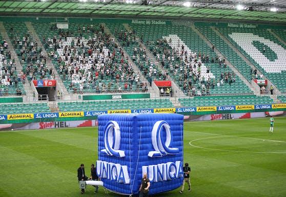 Rapid-Fans dürfen zur letzten Bundesliga-Runde wieder ins Stadion.
