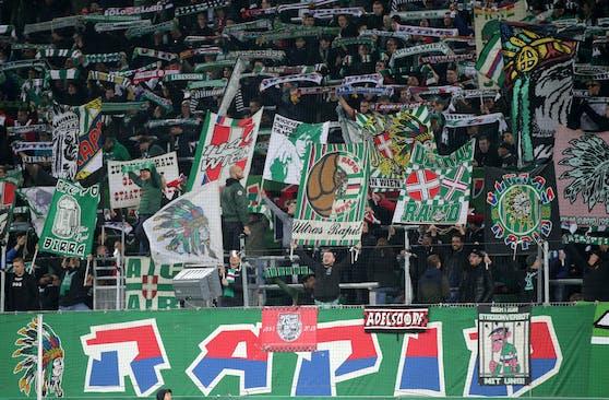 Rapid spielt am Freitag vor 10.000 Fans