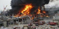 Abermals massives Feuer im Hafen von Beirut