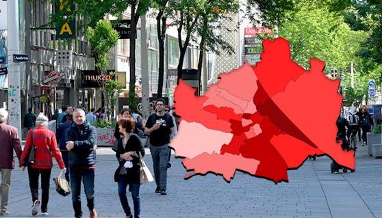 Die aktuellen Corona-Zahlen für Wien