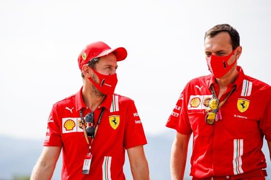 Sebastian Vettel spricht über sein Aston-Martin-Engagement.