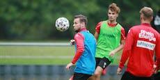 Schaub aussortiert: Läuft er in der Regionalliga auf?