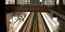 Wiener U-Bahn evakuiert, weil Zug Roller überfuhr