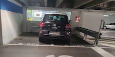 """""""Wienerin verweigerte mir auf Parkplatz einzuparken"""""""
