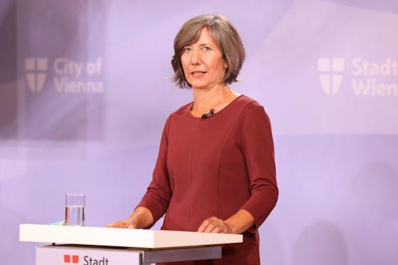 Vizebürgermeisterin Birgit Hebein (Grüne) setzt sich für die Aufnahme von Flüchtlingskindern ein.