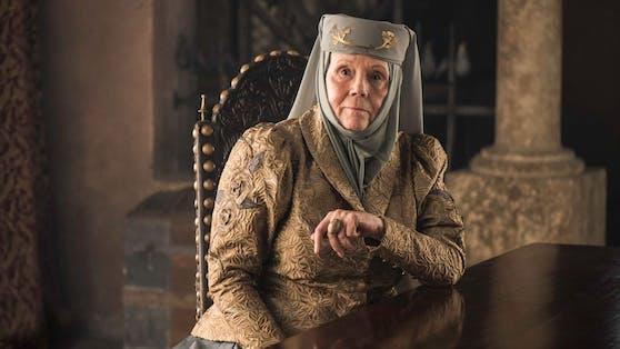 """Diana Rigg, bekannt als Olenna Tyrell aus """"Game of Thrones"""", ist tot."""