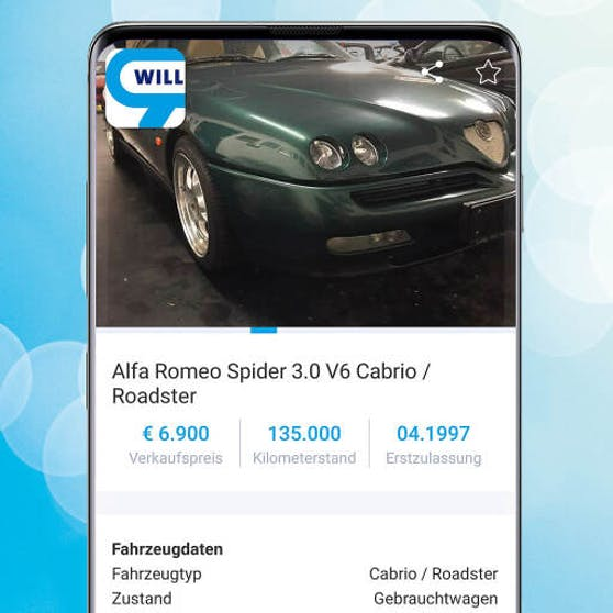 Der Alfa Romeo Spider 3.0 Cabrio/ Roadster
