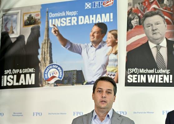 Der Wiener FPÖ-Chef Dominik Nepp.
