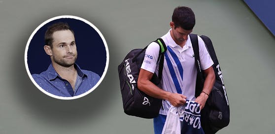 Andy Roddick spricht über den Djokovic-Skandal.
