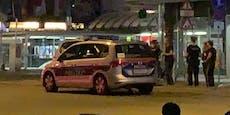 """Masken-Rebell zerstört Taxi, schreit """"Heil Hitler"""""""