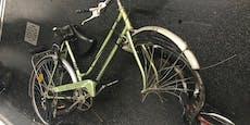 Doppel-Attacke: Fahrrad und Scooter auf Gleise geworfen