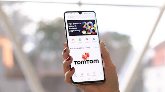 Huawei P40 & Tom Tom machen ab sofort gemeinsame Sache.