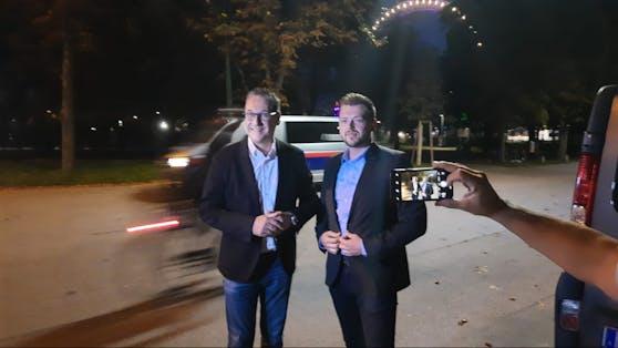 HC Strache und Zoran Kovacevic
