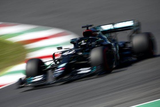 Lewis Hamilton holt sich auch die Mugello-Pole.