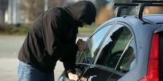 Wiener entdeckt gestohlenes Auto vor sich im Stau