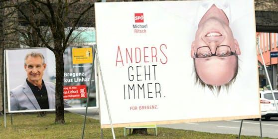 In Bregenz kommt es in zwei Wochen zur Stichwahl zwischen dem amtierenden Bürgermeister Markus Linhart (ÖVP) und Michael Ritsch (SPÖ-nah).
