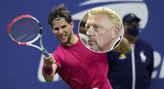 Dominic Thiem, Boris Becker