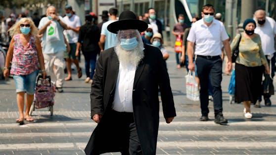 Aufgrund der hohen Corona-Zahlen hat die israelische Regierung einen zweiten Lockdown im September beschlossen.