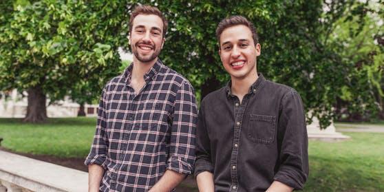 Die beiden Start-up-Gründer Christoph Rebernig und Karim Abdel-Baky